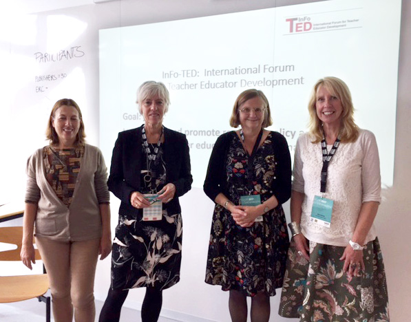 InFo-TED: Ainat Guberman, Marit Ulvik, Mieke Lunenberg and Jean Murray.